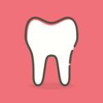 Ładne urodziwe zęby również efektowny uroczy uśmiech to powód do płenego uśmiechu.